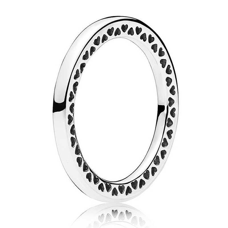... РОЗОВОЕ игристое капель классические сердца кольцо с кристаллом кольцо  925 пробы серебро кольцо печатка для Для ... 1da3f9300d5