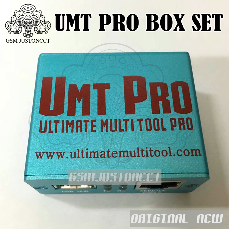 GSMJUSTONCCT 100% Original NEW UMT PRO BOX ( UMT + Avengers 2in1 Box with 1  USB Cables ) +++ Free