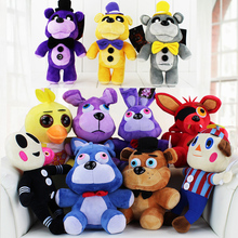 13Style 25 30cm Fox Five Nights At Freddy s Plush Toy Bonnie chica Golden Freddy Fazbear