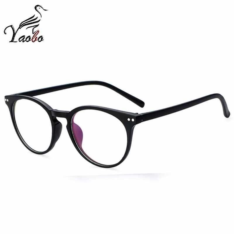 3f4384da22 ... Nuevo marco de gafas a la moda para mujer, montura de gafas negras para  hombre ...