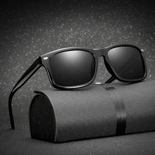 Long Keeper Men Polarized Glasses Bilförare Night Vision Glasögon Anti-glare Polarizer Solglasögon Polariserade Driving Sun Glasses