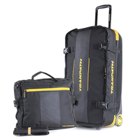 32 Inch High Capacity Luggage Set Trolley Suitcase Trunk Checked Box Male Oxford Cloth