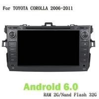 Android 6 0 Eight Core RAM 2G 32G ROM Car Video Player GPS Satnavi Headunit