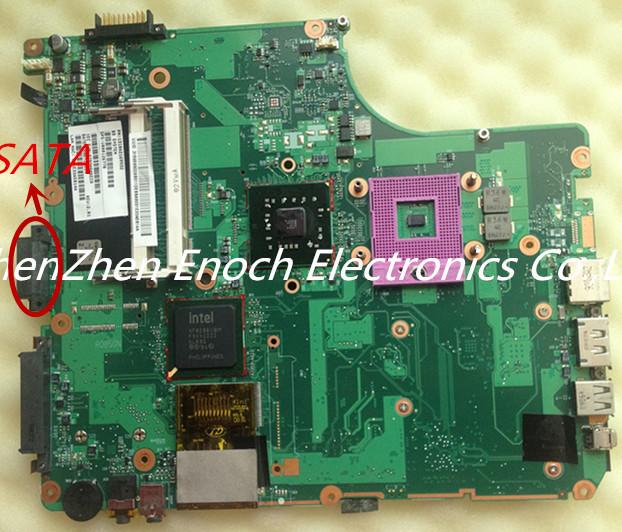 Para toshiba satellite a300 a305 madre del ordenador portátil integrado v000126770 6050a2169901-mb-a02 sata dvd
