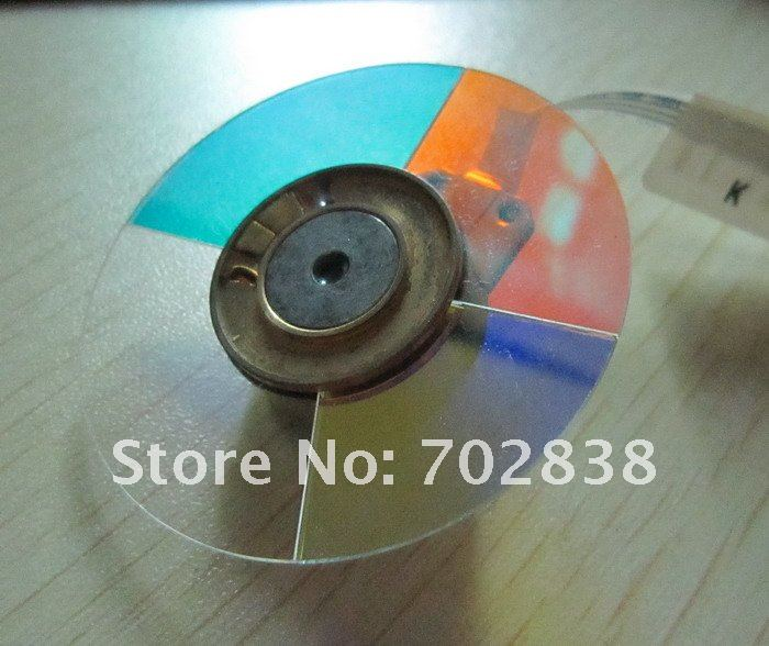 Projector Color Wheel,4 Segments for the Projector of Optoma EP728,EP739,EP755,EP758,EP756 eplutus ep 158t