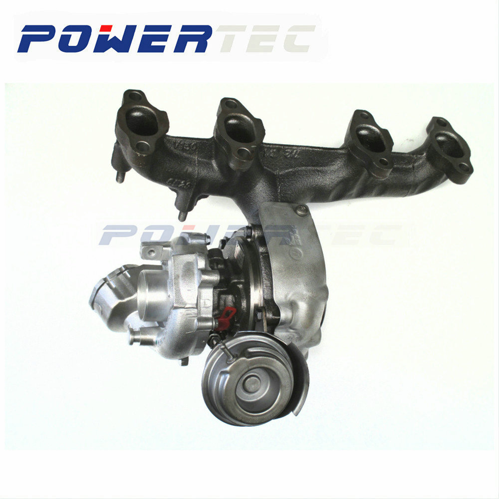 Turbocompresor de turbina completo para Volkswagen Passat B6 2,0 TDI BMP/BMM/BVD 103 KW 765261 nuevo cargador turbo completo 03G253019L