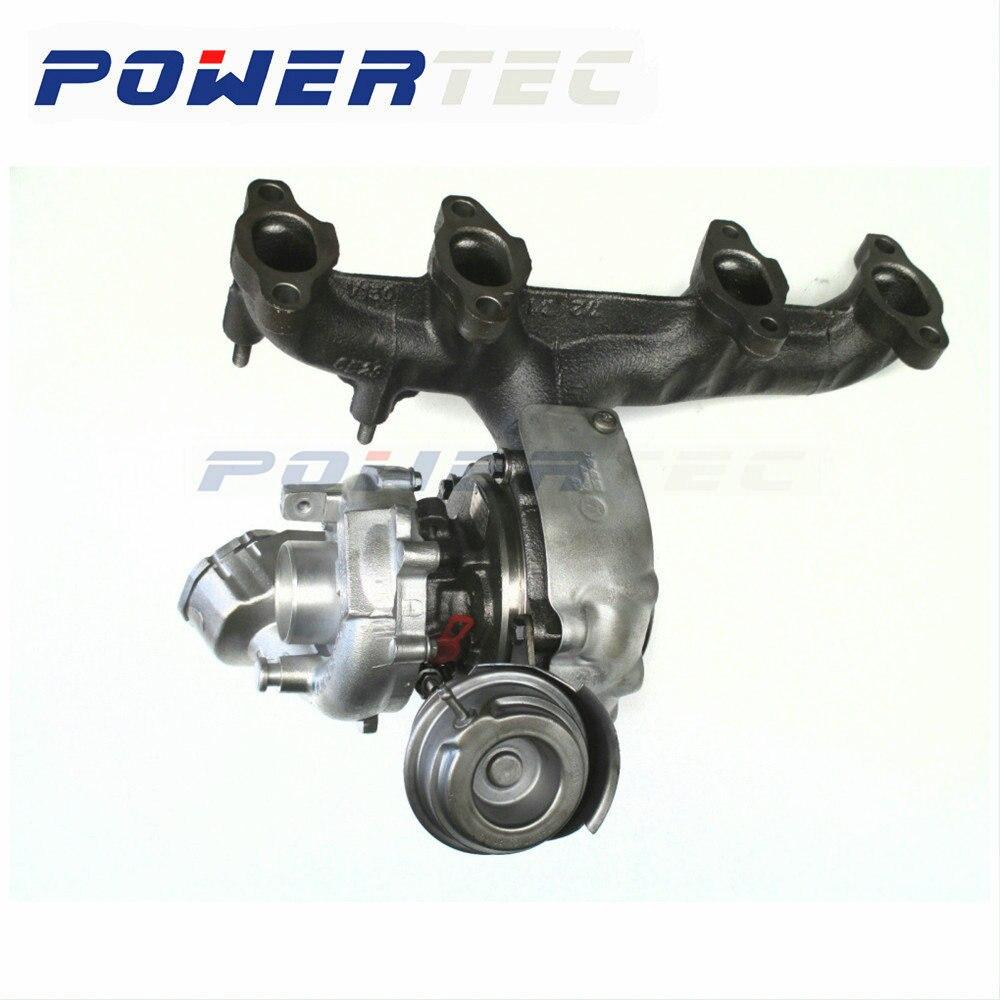 Turbocompresseur à turbine complet pour Volkswagen Passat B6 2.0 TDI BMP/BMM/BVD 103 KW 765261 nouveau turbo chargeur complet 03G253019L
