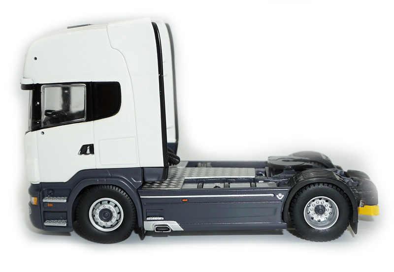 1/50-TEKNO TOPLINE SCANIA R730 SERVICES-Metal-CAR transport Trailer  Truck-model