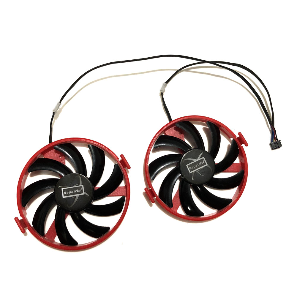 XFX RX 460 GPU VGA Cooler FY09010H12LPB/A FDC10H12S9-C Cooling Fan For Radeon RX460 rx-460-2gb/4GB Grahics Card As Replacement image
