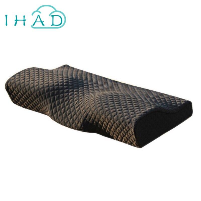Butterfly cervical memory pillow pillow nursing neck for Memory foam pillow for neck pain