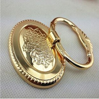 Modern Fashion Deluxe Gold Shaky Drop Rings Furniture Handles 22mm Gold Drop Rings Drawer Shoe Cabinet