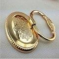 Modern moda luxo ouro instável gota anéis móveis alças 22mm gota anéis de ouro sapato gaveta do armário porta puxa botões alças