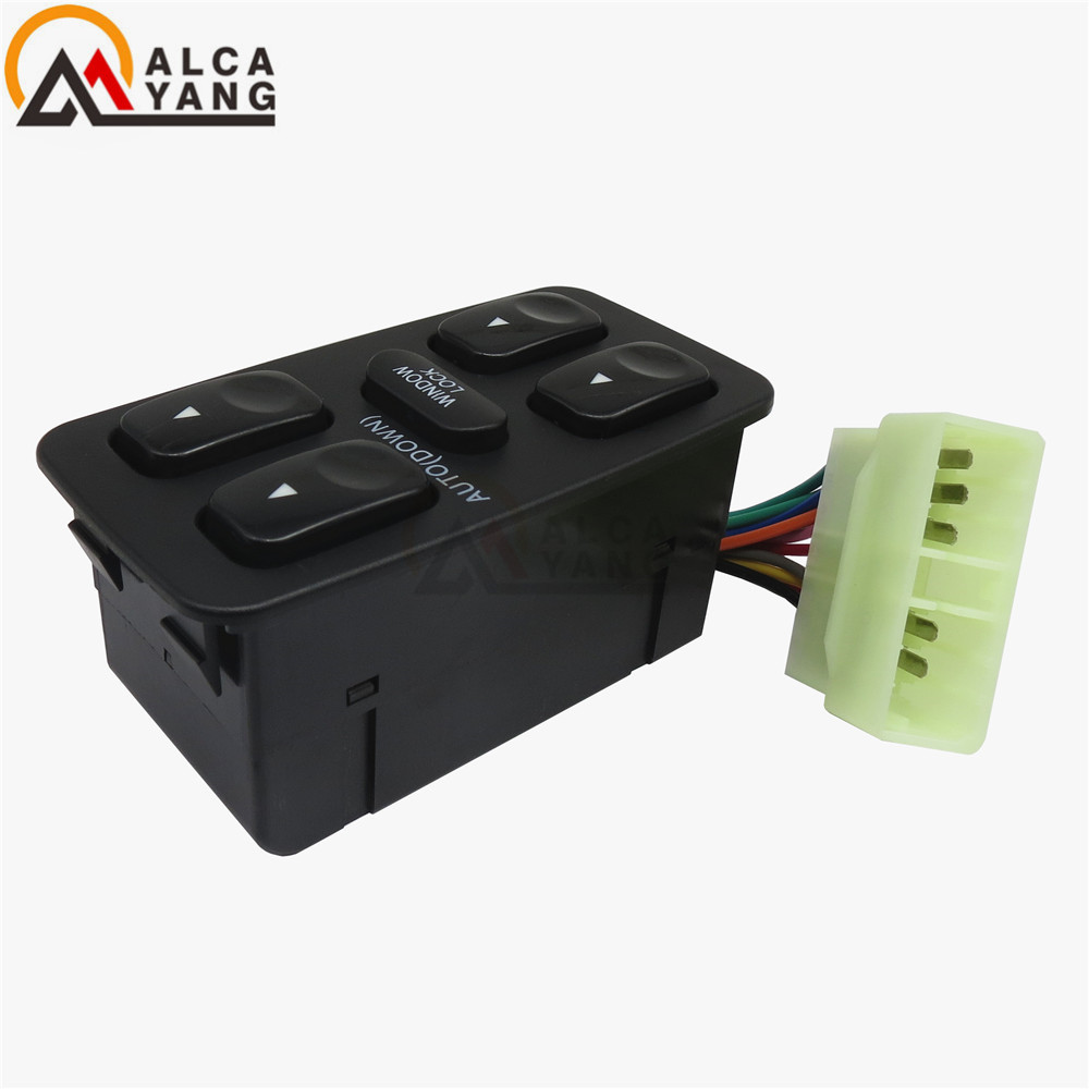купить Electric Control Power Master Window Switch for 92~94 Elantra Hyundai Galloper по цене 3867.7 рублей