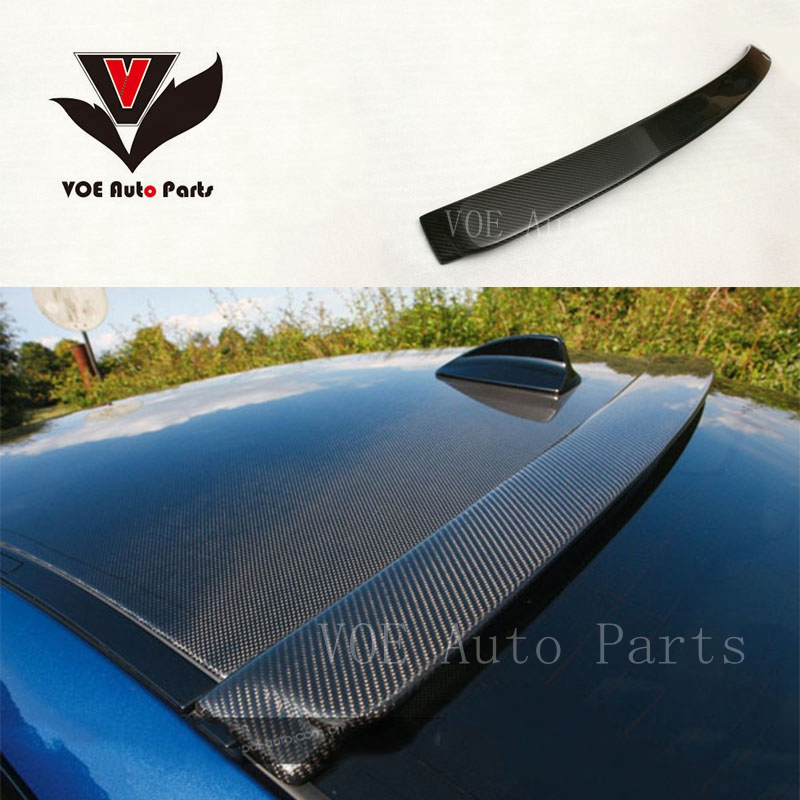 2007-2012 E92 AC Style Carbon Fiber Rear Roof Spoiler for BMW 3 Series E92 Coupe 325i 328i 330i