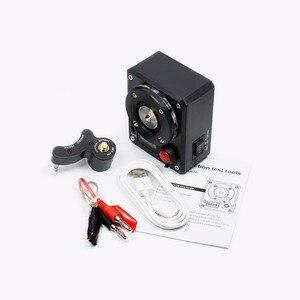 Image 2 - Volcanee Многофункциональный Омметр, катушка, сжигание тепла, напряжение для электронной сигареты, RDA бак, электронные сигареты, DIY инструменты, тестер сопротивления вейпа