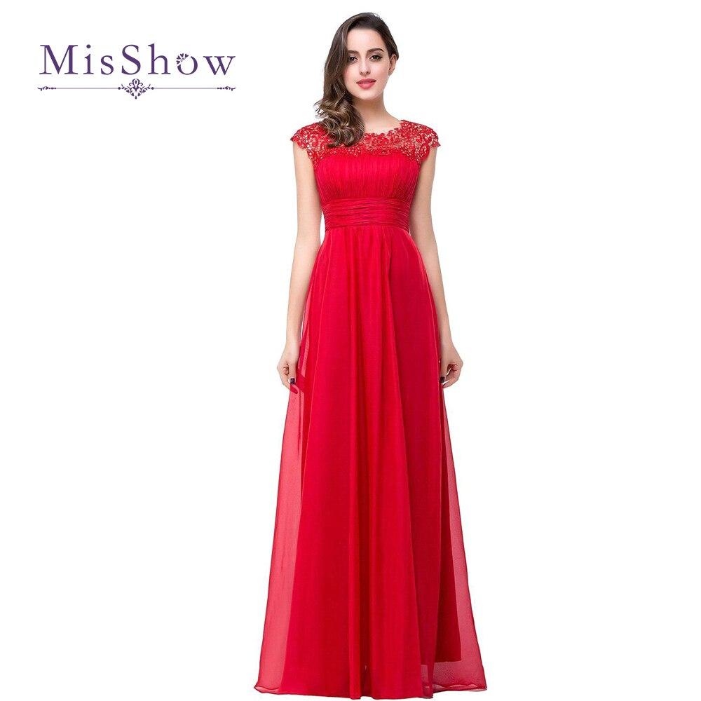 Long   Bridesmaid     Dresses   2018 Beading Lace Vestido De Dama De Honra Cheap Red Royal Blue Robe De Soiree Prom Wedding Party   Dress