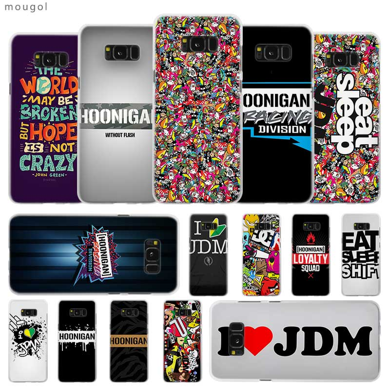 Half-wrapped Case Phone Bags & Cases Sport Car Lamp Style Hot Fashion Transparent Case For Samsung Galaxy S4 S5 Mini S6 S7 Edge S8 S9 S10 Plus Lite Note 9 Cover