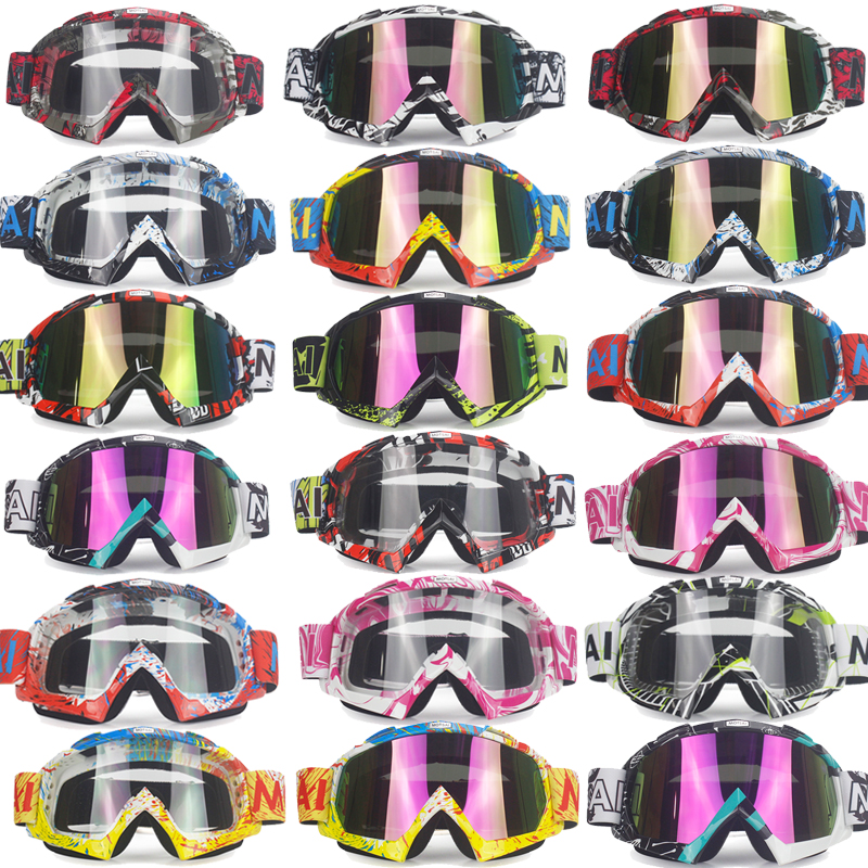 Brand Goggles Dirt Bike ATV Cross Riding Ski Fox Motocross Glasses Motor for Motorcycle UV Ski Snowboard Goggles Clear Lens hight quality gm63a handheld portable led digital vibration sensor meter tester vibrometer analyzer acceleration without box