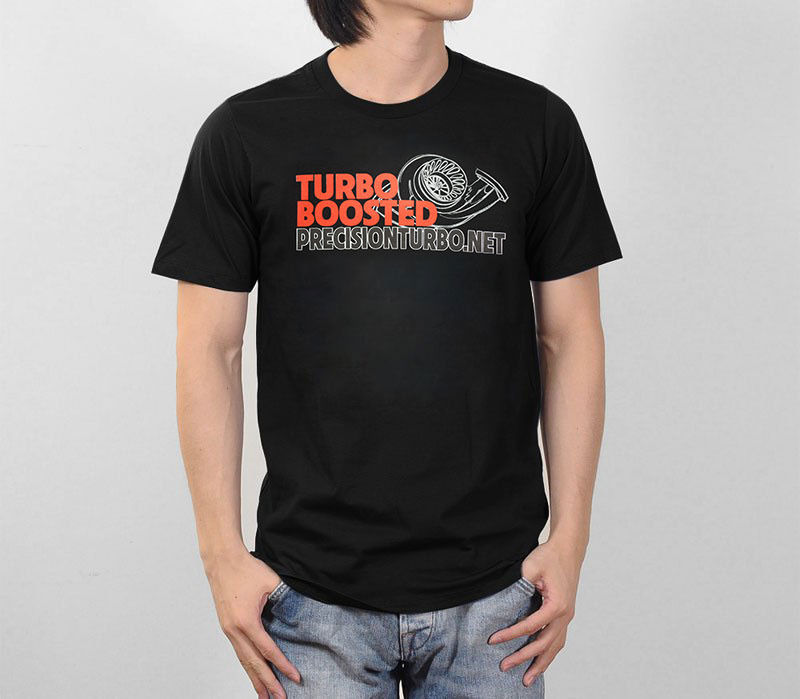 Precision Turbo Boosted and Engine Car Racingerer Performance Logo Graphic T-Shirt Different Colours High Quality Youth T Shirt