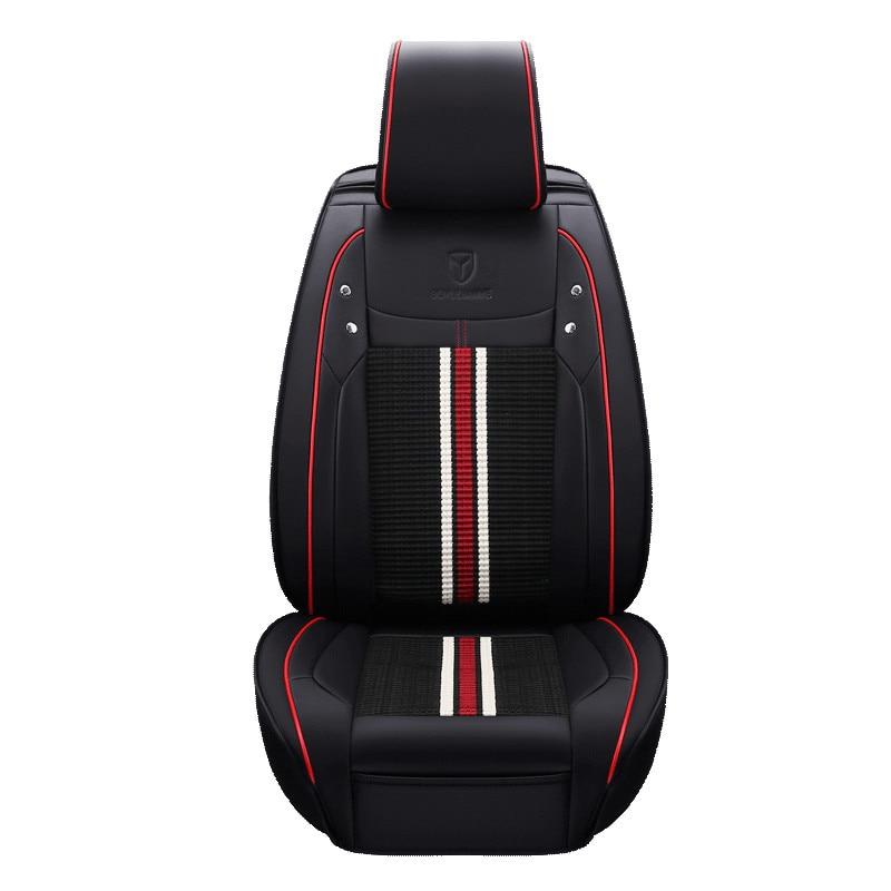New 3D Styling Car Seat Cover Sports Styling,Car pad,Ice Silk Car Cushion For BMW Audi Toyota Honda Ford Vw Hyundai Sedan SUV