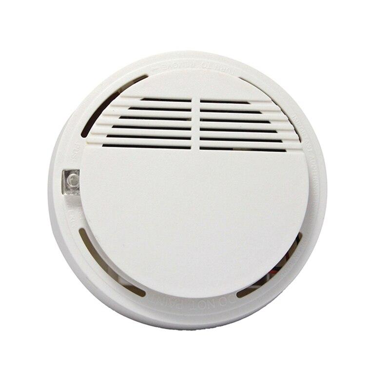 дешево!  Независимый Тип Высокочувствительный Фотоэлектрический 315/433 МГц Детектор Курения Сигнализация