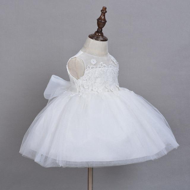2016 New Summer Baby Girls Dress Newborn Christening Gown Party ...