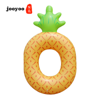 Pineapple Inflatable Pool Float Adult Children High Quality Swimming Ring Beach Water Toys For Baby Floating jooyoo