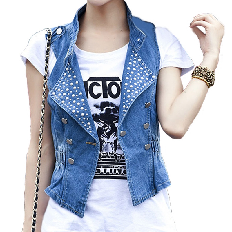 Online Get Cheap Woman Jean Jacket Vest -Aliexpress.com | Alibaba ...