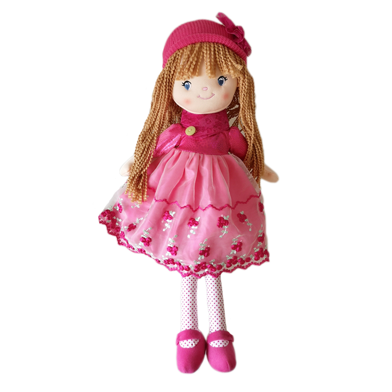 Limited Collection Plush Girl Doll