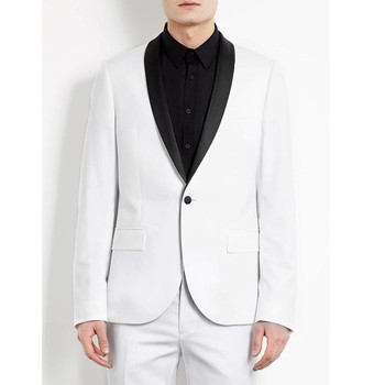 Men's suit men's fashion temperament suit two-piece suit (jacket + pants) men's dance party dress support custom