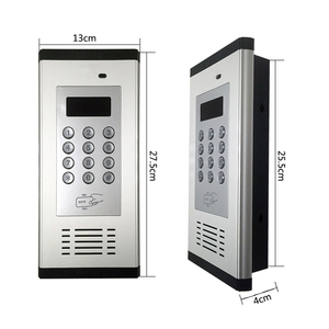 Image 2 - Access Control Alarm System 3G GSM Intercom Supports RFID Card for apartment working for 200 room owners K6
