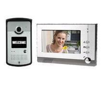 Yobang Security 7″ LCD Video CMOS Rainproof Door Camera Peephole Night Vision Doorbell Building Security Door Phone
