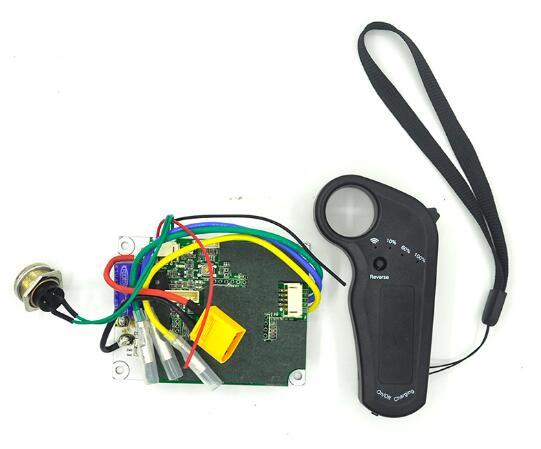 Panneau d'entraînement simple/Double de contrôleur de planche à roulettes de quatre roues avec la télécommande à distance de substitut d'esc réglée pour le Scooter électrique
