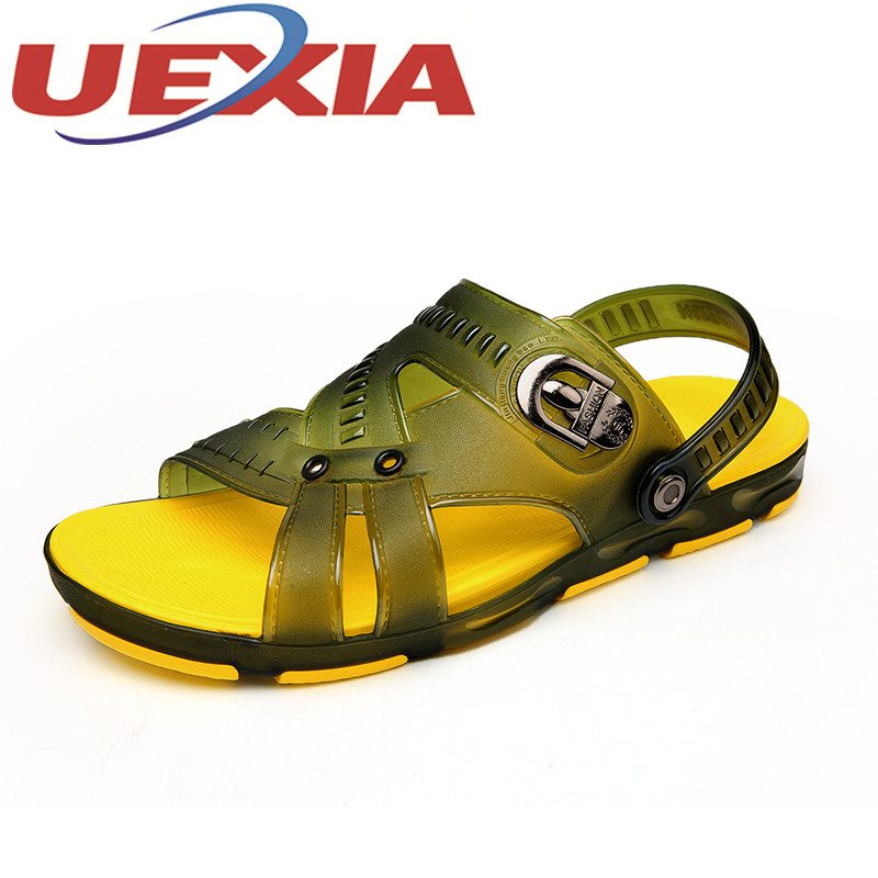 Big Size 45 Summer Beach Sandals For Men Outdoor Casual Slippers Shoes Fashion Beach Flip Flops Slides Sandals Sapatos Hembre
