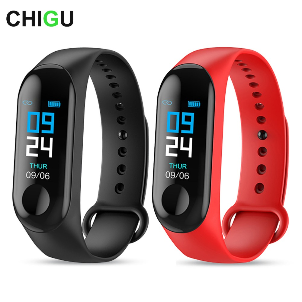 Sizzling M3C Sensible Bracelet Shade Display screen Waterproof Health Tracker Sensible Watch Males Android Coronary heart Price Monitor Ladies Sensible Band
