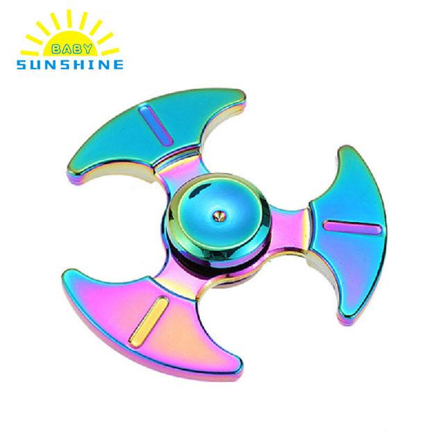 Rainbow Fid Spinner Bearing Hand Spinner High Speed R188 Anxiety