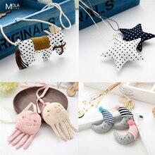 Kawaii/милые аксессуары для маленьких детей, комплект подходящих детских аксессуаров, цепочек на шею в форме лошадок, животных, сердец, звездочек для новорожденных