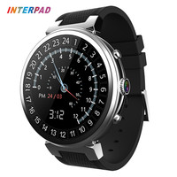2018 Interpad I6 Smart Watch 3G GPS WIFI Android 5.1 MTK6580 Quad Core 1.3GHz 2GB 16GB Smartwatch Support SIM Card