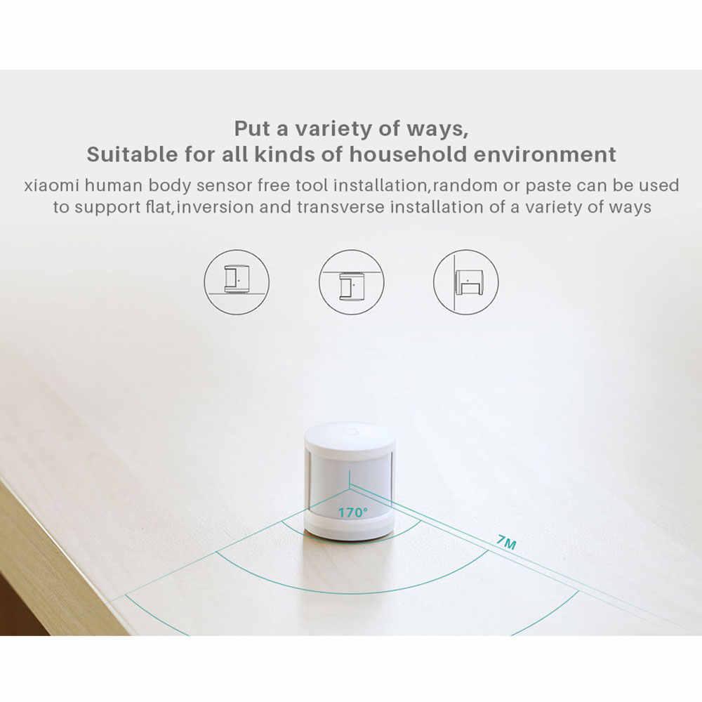 Xiaomi Mijia 人体センサー赤外線モーションセンサーの Zigbee ワイヤレス接続ゲートウェイ 2 スマートホームセキュリティデバイス