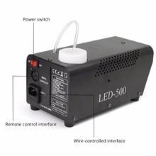 LED 500W Fog Smoke Machine Remote RGB color Smoke Ejector