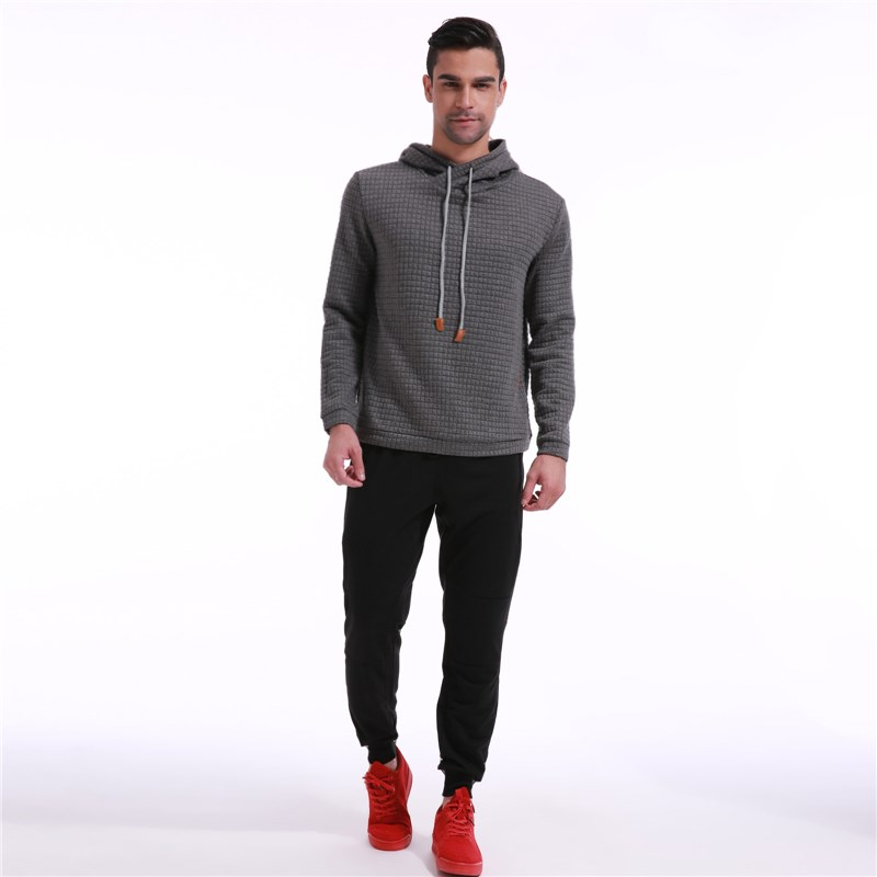 Hoodies Male 2018 Brand Male Long Sleeve Solid Color Hooded Sweatshirt Mens Hoodie Tracksuit Sweat Coat Casual Sportswear M~3XL