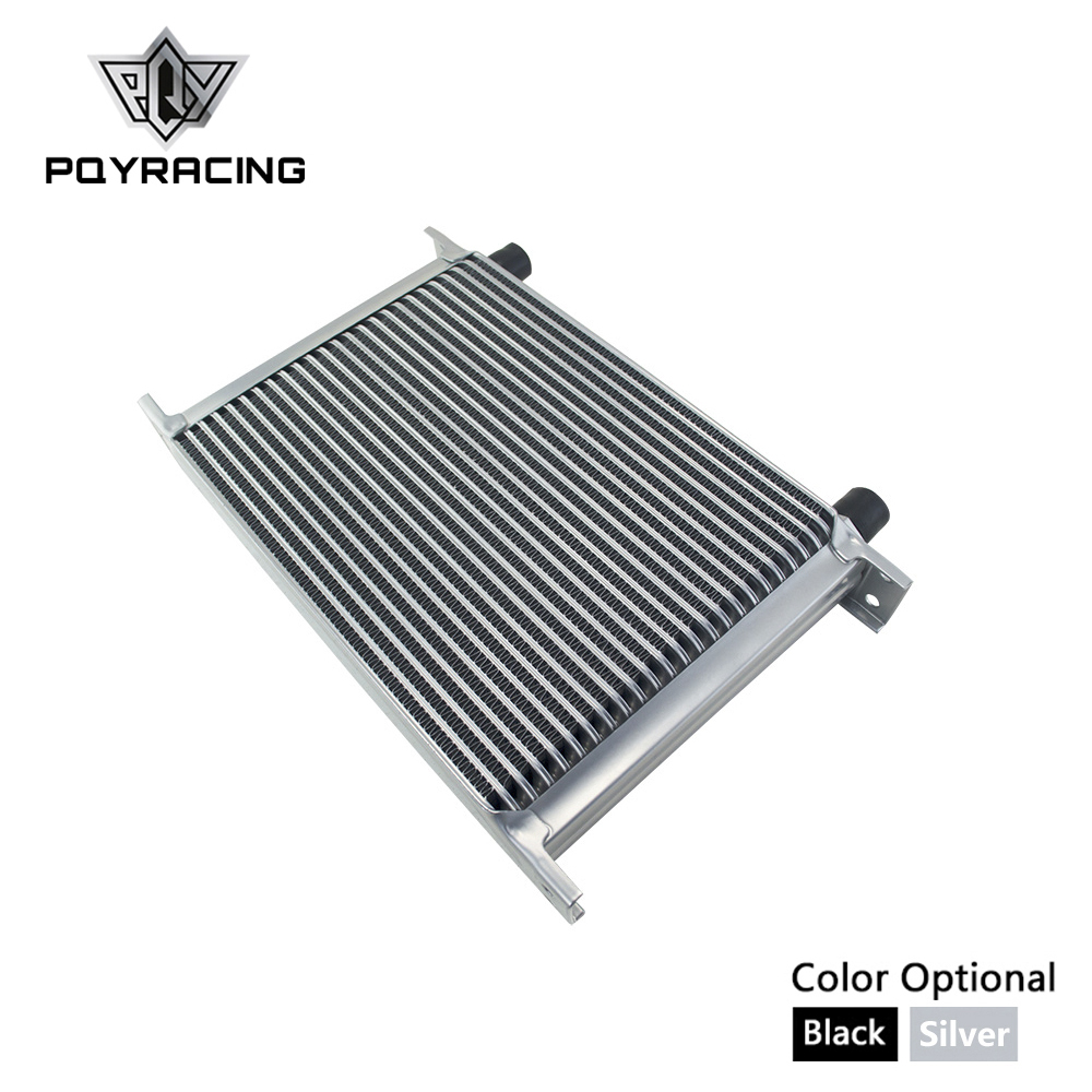 цена на PQY - 25 ROW AN-10AN UNIVERSAL OIL COOLER ENGINE TRANSMISSION OIL COOLER KIT PQY7025