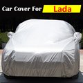 Auto Cover Anti-UV Sun Snow Rain Scratch Dust Protection Outdoor Car Cover For Lada Priora Niva Kalina 112 111 110 Samara