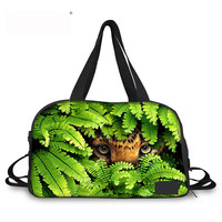 Noisy Designs Travel Bag 3D Animals Printed Women Travel Bags Travel Weekend Bag Duffle Travelling Bags And Luggage For Women