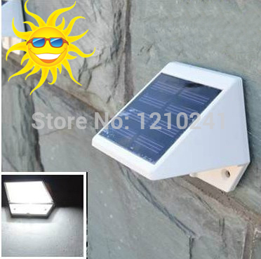 4 LEDs solar spot solar energy garden light garden...