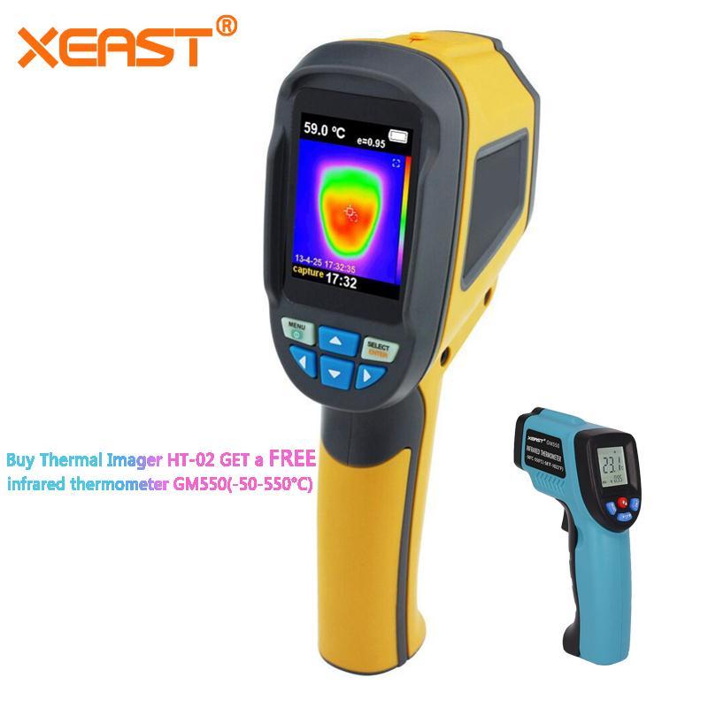 Blitz Lieferung aus Lager HT-02 Handheld Thermische Imaging Kamera ht02 Serie und HT-18 hohe IR Auflösung