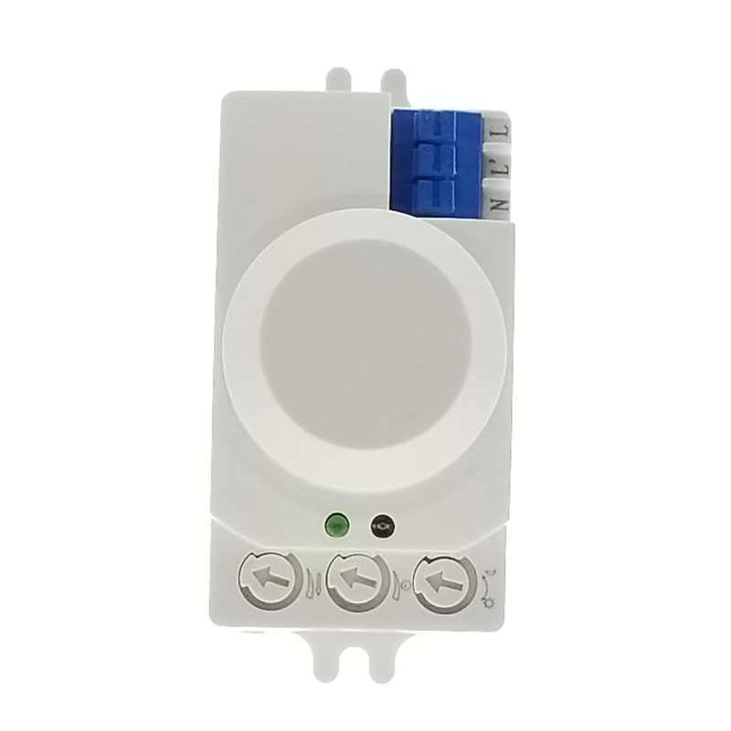 220V 230V 5.8GHz Microwave Movement Motion Detector PIR Sensor Switch For Light Hottest