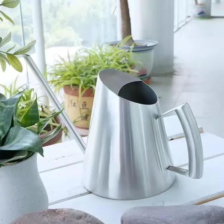 Shishe për Lotim Kreativ 304 Kanaçe për Lotim me Ujë çelik Stainless 1000ML