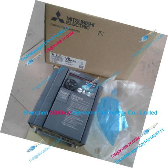 Inverter FR-E720-3.7K 200~240V 16.5A 3.7KW 0.2~400Hz New Original