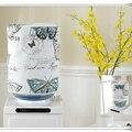 Диспенсер для воды с пасторальным принтом  пылезащитный чехол из хлопка и льна с цветочным принтом  креативные питьевые фонтанов  крышки ди...
